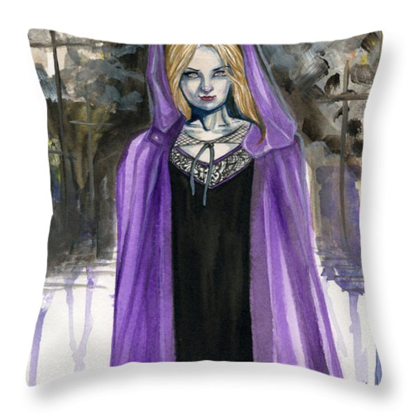 Shattered Faith Throw Pillow by Jimmy Adams