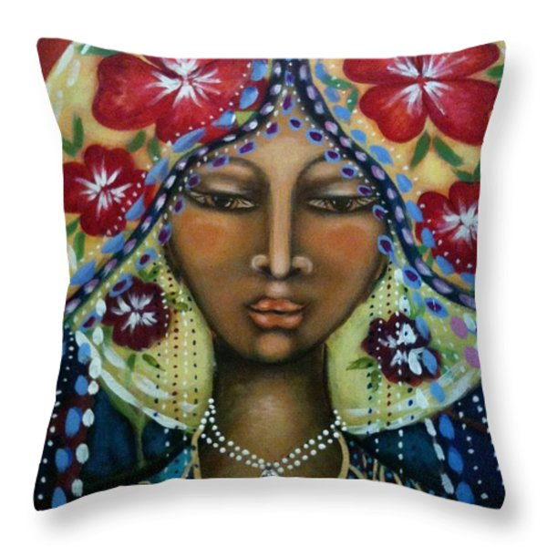 Shekinah Rising  Throw Pillow by Maya Telford