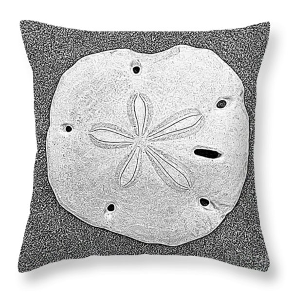 Shell Effects 9 Throw Pillow by Michael Anthony