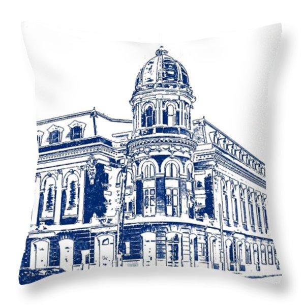 Shibe Park 2 Throw Pillow by John Madison