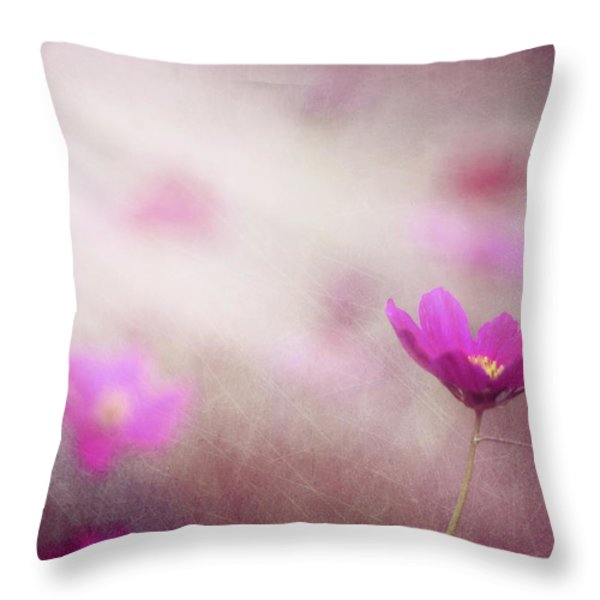 Shine On Me Throw Pillow by Amy Tyler
