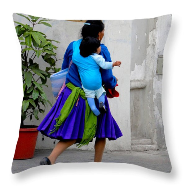 Shoeless Joe Throw Pillow by Al Bourassa