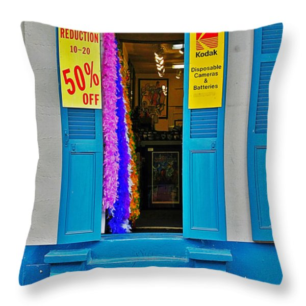 Shop New Orleans Throw Pillow by Christine Till