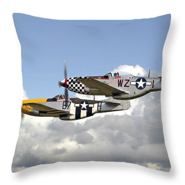 Show Time Throw Pillow by Pat Speirs