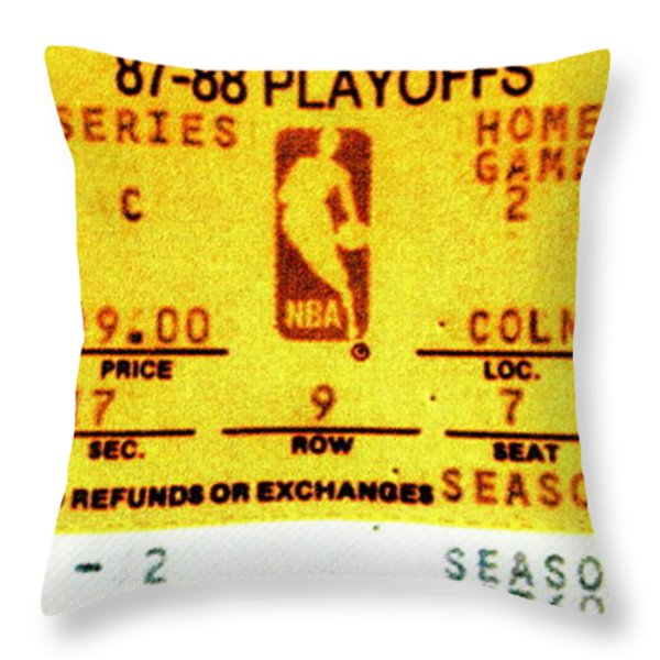 Showtime Throw Pillow by Benjamin Yeager