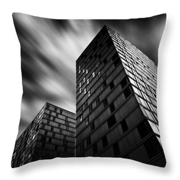 Side by Side Throw Pillow by Dave Bowman