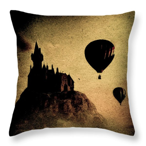 Silent Journey  Throw Pillow by Bob Orsillo