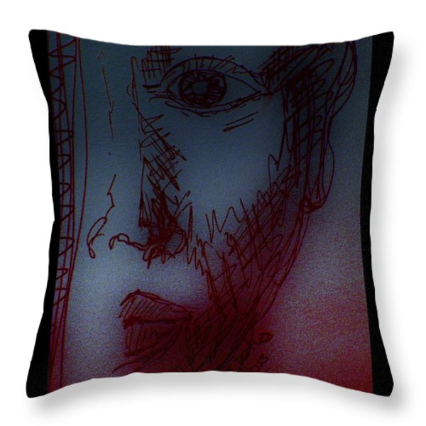 Silent Witness Throw Pillow by Mimulux patricia no