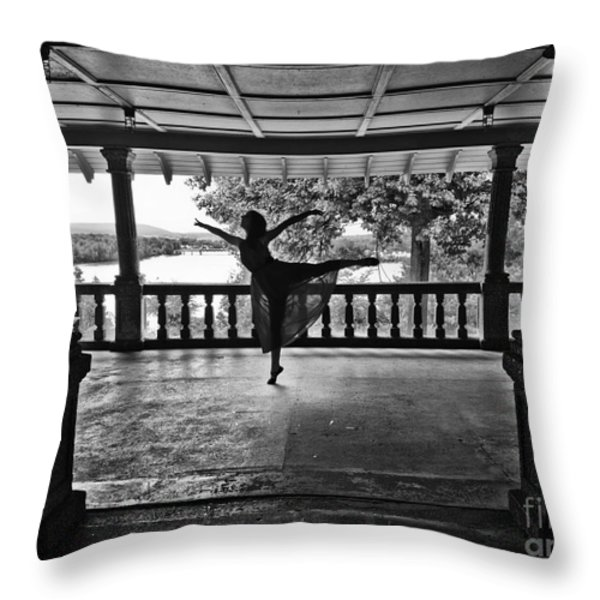 Silhouette Throw Pillow by Audrey Wilkie