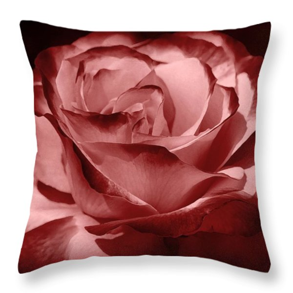 silk  Throw Pillow by Athala Carole Bruckner