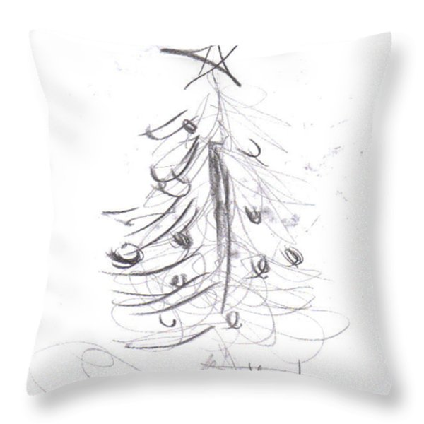 Simple Love Throw Pillow by Laurie D Lundquist