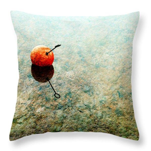 Simplicity Throw Pillow by Randi Grace Nilsberg