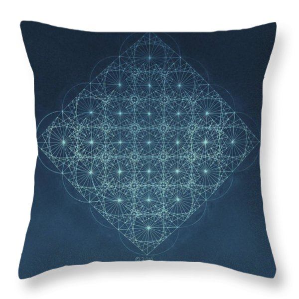 Sine Cosine And Tangent Waves Throw Pillow by Jason Padgett