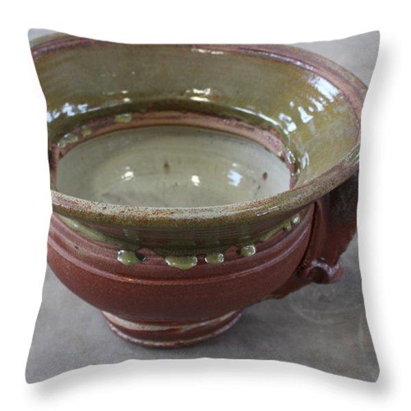 Sink Series 0037 Throw Pillow by Richard Sean Manning