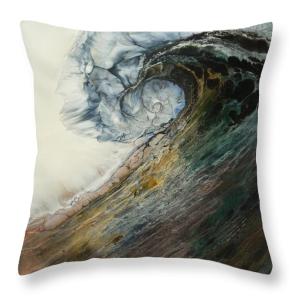 Siren Song Sold Throw Pillow by Lia Melia