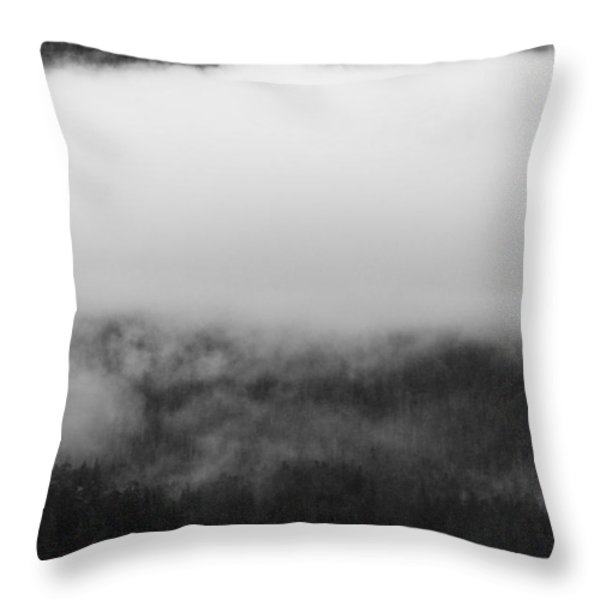 Sitka Fishing Boats Throw Pillow by Carol Leigh