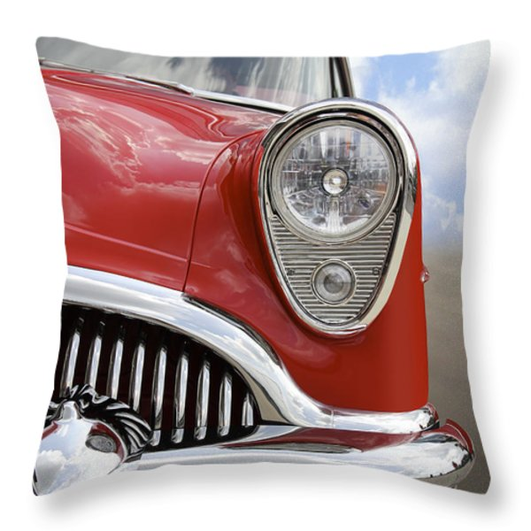 Sitting Pretty - Buick Throw Pillow by Mike McGlothlen