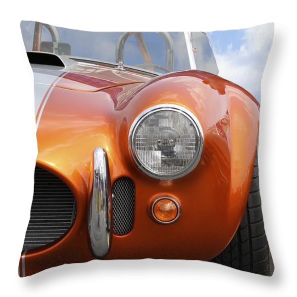 Sitting Pretty - Cobra Throw Pillow by Mike McGlothlen