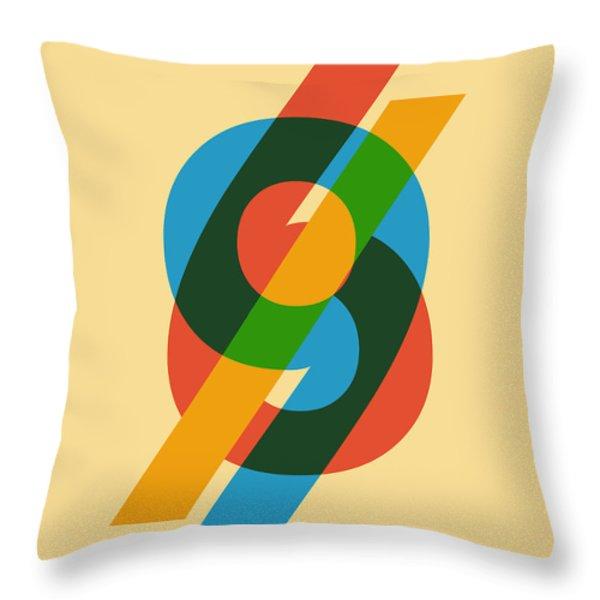 Sixty Nine Throw Pillow by Budi Satria Kwan
