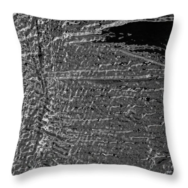 Skin No.18 Effect Throw Pillow by Fei A