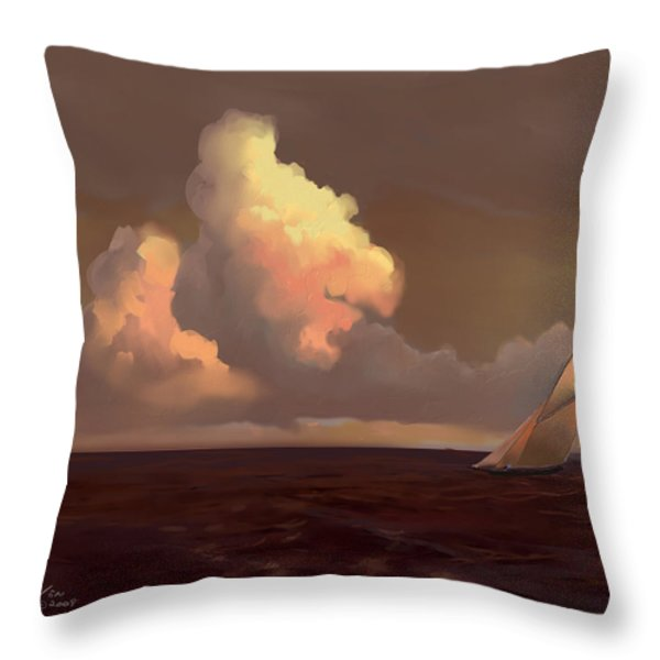 Skirting The Cell Throw Pillow by Mike Savlen