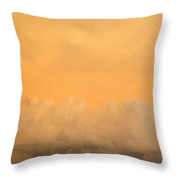 Sky Fire 004 Throw Pillow by Tony Grider