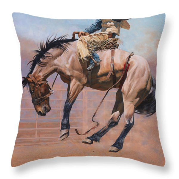 Sky High Throw Pillow by JQ Licensing