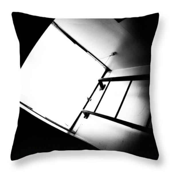 Sky Light Throw Pillow by Bob Orsillo