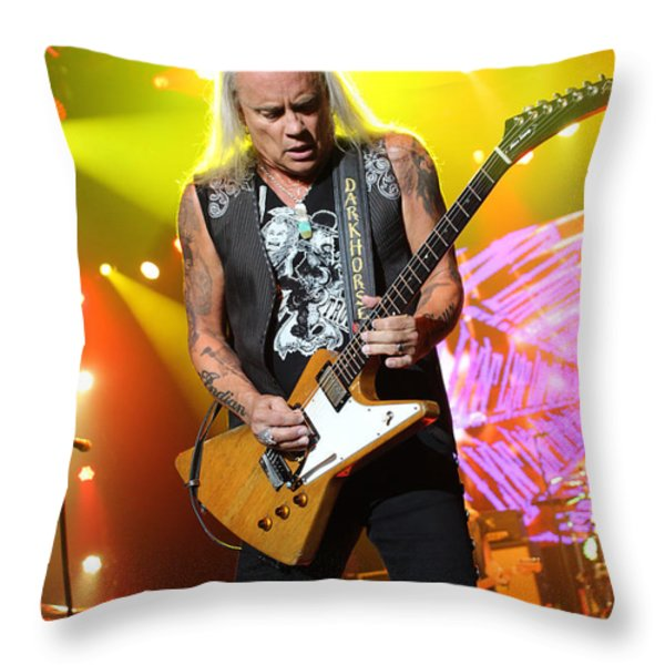 Skynyrd-Rickey-7998 Throw Pillow by Gary Gingrich Galleries