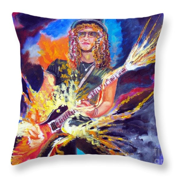 Slash 1 Throw Pillow by To-Tam Gerwe