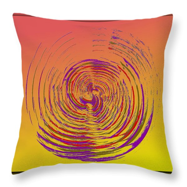 Slip In Time Throw Pillow by Tim Allen