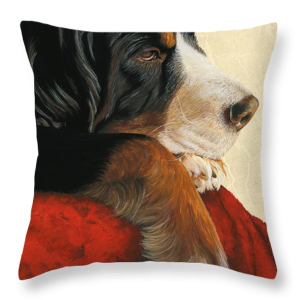 Slumber Throw Pillow by Liane Weyers