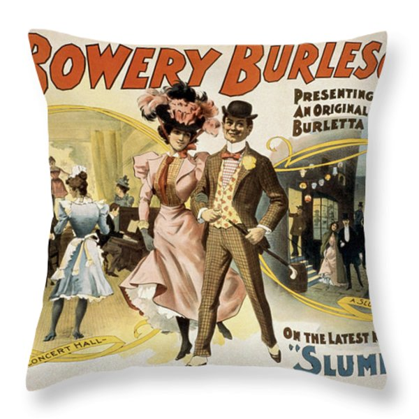 Slumming Throw Pillow by Aged Pixel