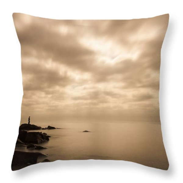 Small... Throw Pillow by Mary Amerman