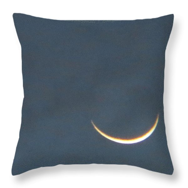 Smile In Sky Throw Pillow by Sonali Gangane