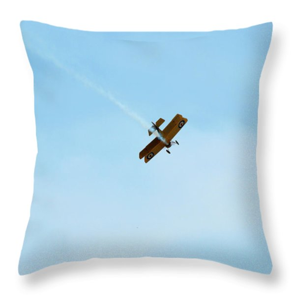 Smokin Throw Pillow by Thomas Young