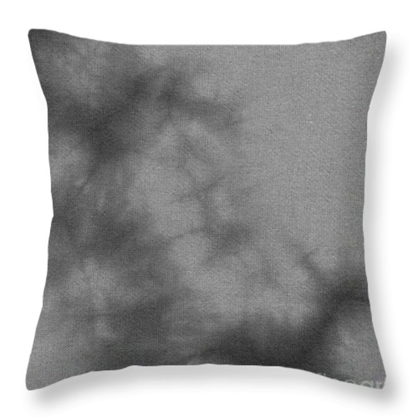 Smoky Batik Pattern Throw Pillow by Kerstin Ivarsson