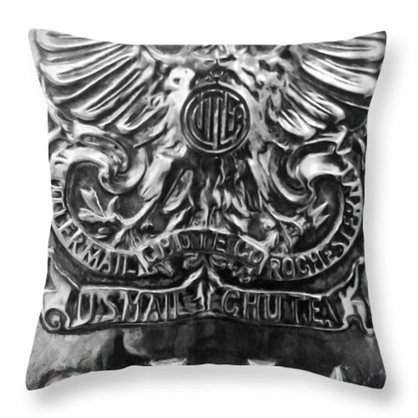 Snail Mail Throw Pillow by James Aiken