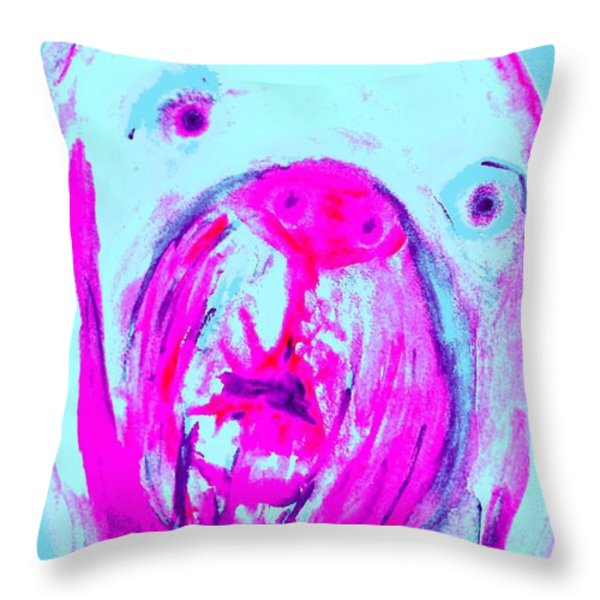 tell me I am the only one Throw Pillow by Hilde Widerberg