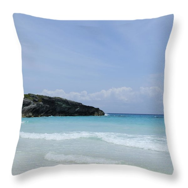 Soak Up the Sun Throw Pillow by Luke Moore