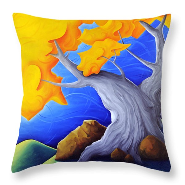 Soaring Dreams Throw Pillow by Richard Hoedl