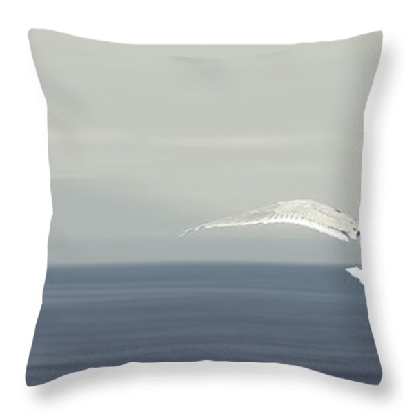 Soaring Free Throw Pillow by Lisa Knechtel