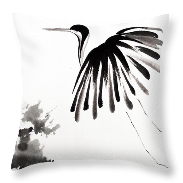 Soaring High Throw Pillow by Oiyee At Oystudio