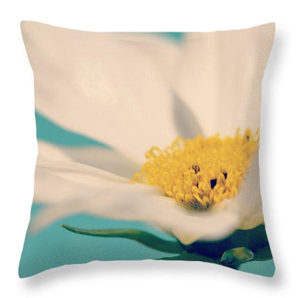 Softly Spoken Throw Pillow by Melanie Moraga
