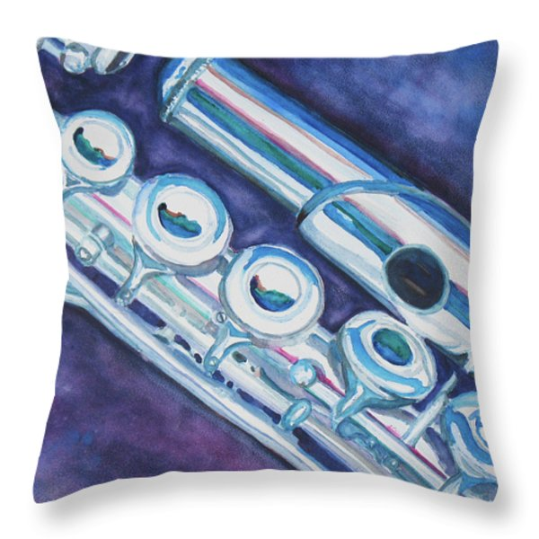 Some Assembly Required Throw Pillow by Jenny Armitage