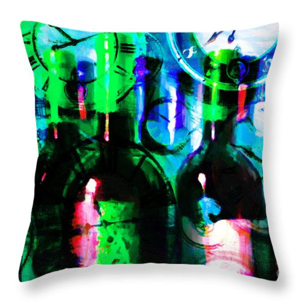 Some Things Get Better With Time p138 Throw Pillow by Wingsdomain Art and Photography