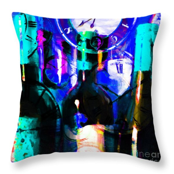 Some Things Get Better With Time - Square p180 Throw Pillow by Wingsdomain Art and Photography
