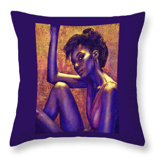 Sometimes I Imagine Throw Pillow by Jane Schnetlage