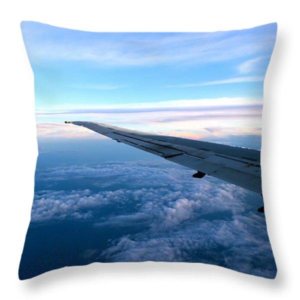 Somewhere Over Georgia 3 Throw Pillow by Kume Bryant