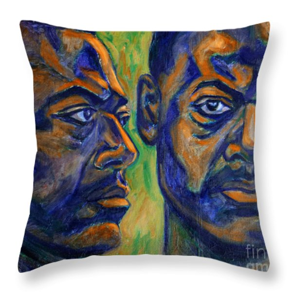 Song of Freedom Throw Pillow by Xueling Zou